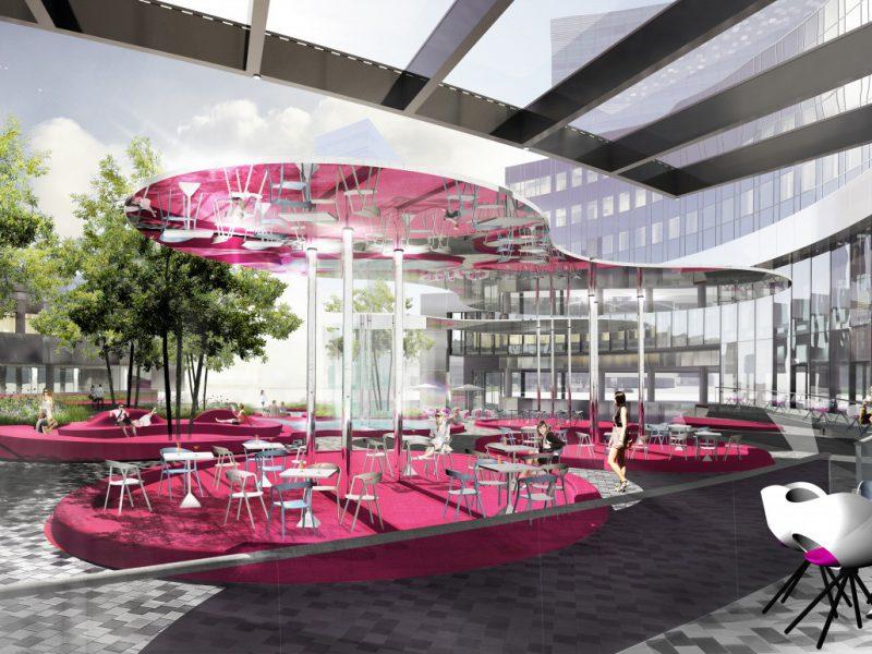buro-sant-en-co-ven-amsterdam-landschap-buitenruimte-ontwerp-hotel-hotelplaza-hotelplein-zzdp architecten-karim rashid