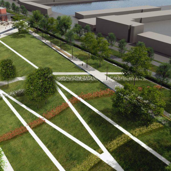 buro-sant-en-co-landschapsarchitectuur-dakpark-rotterdam-ontwerp-talud-paden-maquette