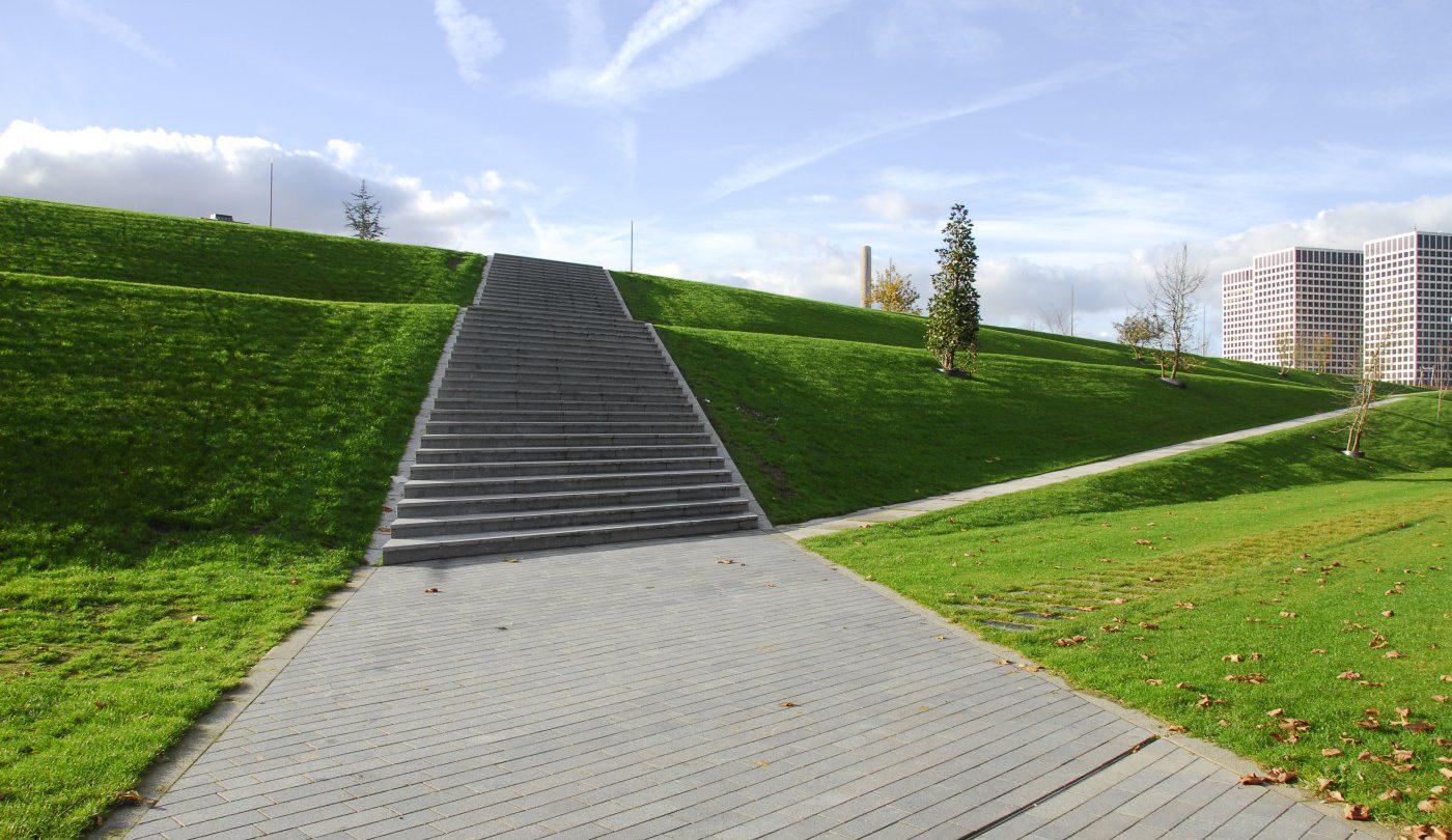buro-sant-en-co-landschapsarchitectuur-dakpark-rotterdam-ontwerp-talud-trap