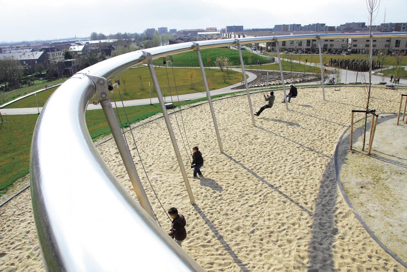 Park Als Tuin : Park de hoge weide utrecht buro sant en co