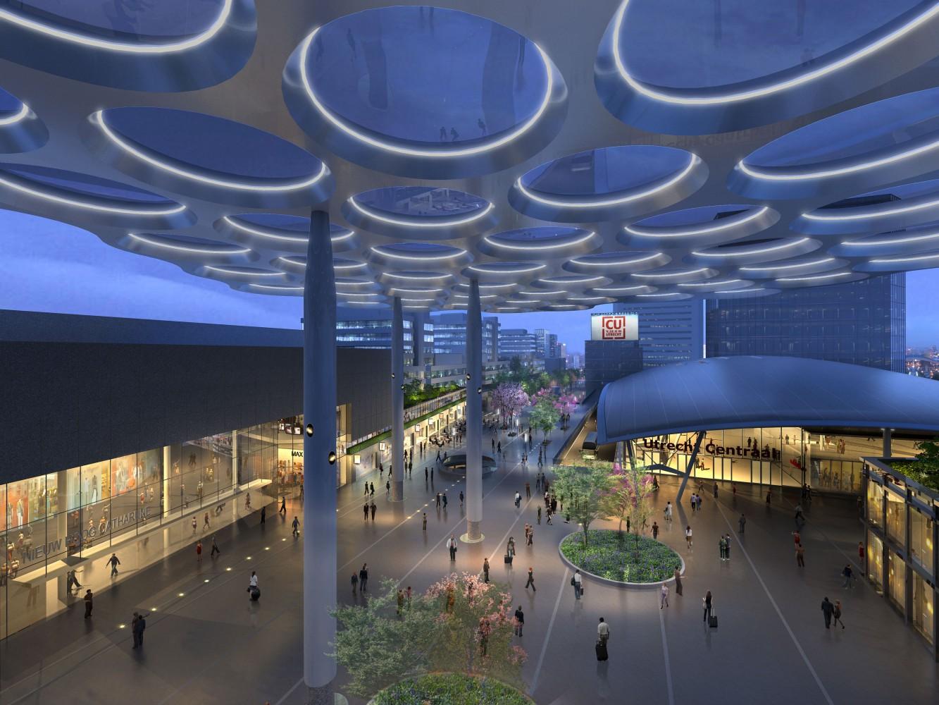 buro-sant-en-co-landschapsarchitectuur-stationsplein-oost-utrecht-centraal-station-ontwerp-herinrichting-fietsparkeerkelder-groendak-impressie-1