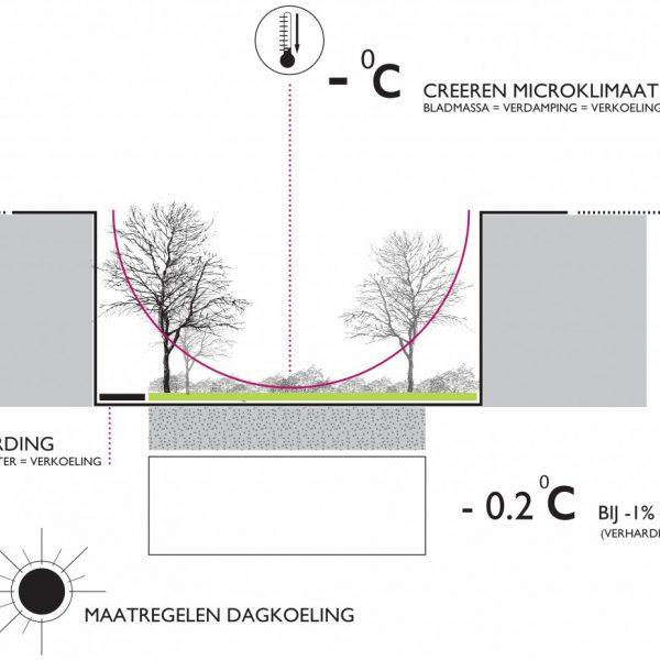 buro-sant-en-co-landschapsarchitectuur-van leeuwenhoekpark-delft-stadspark-dakpark-klimaatadaptief-ecologie-hittestress-dagkoeling