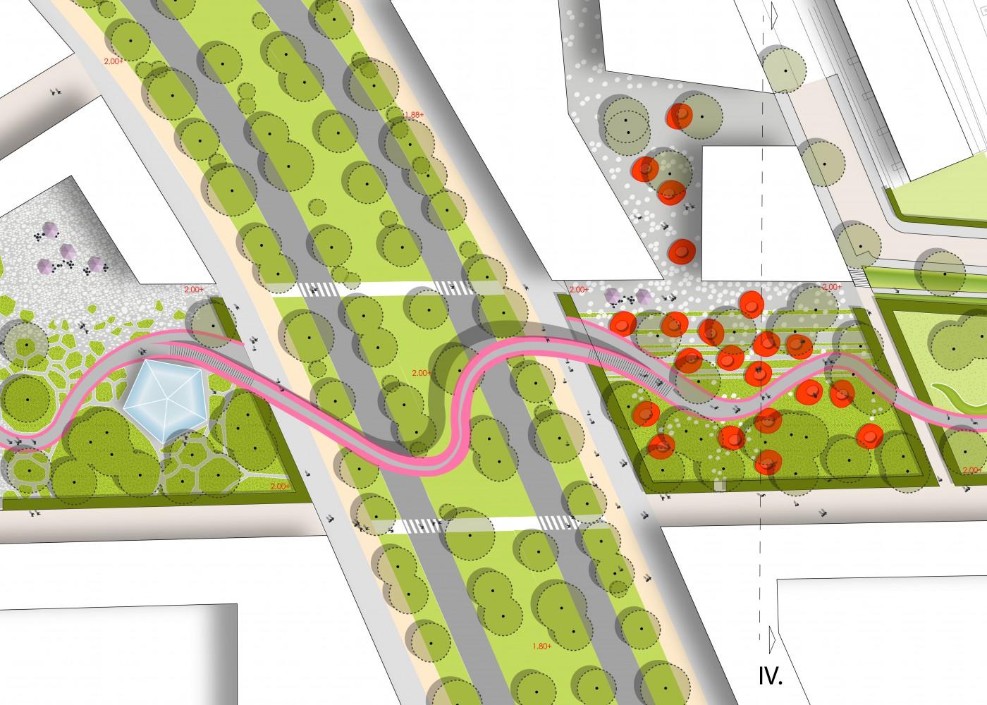 buro-sant-en-co-landschapsarchitectuur-van leeuwenhoekpark-delft-stadspark-dakpark-klimaatadaptief-ecologie-ontwerp-plantekening-1