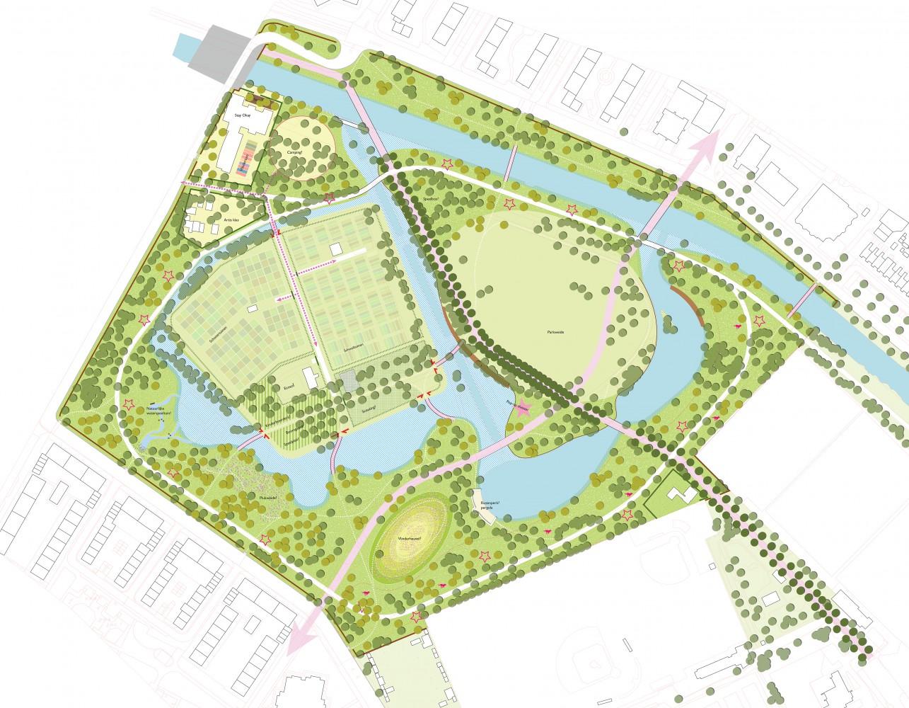 buro-sant-en-co-landschapsarchitectuur-schoterbos-haarlem-stadspark-ecologie-ontwerp-plankaart