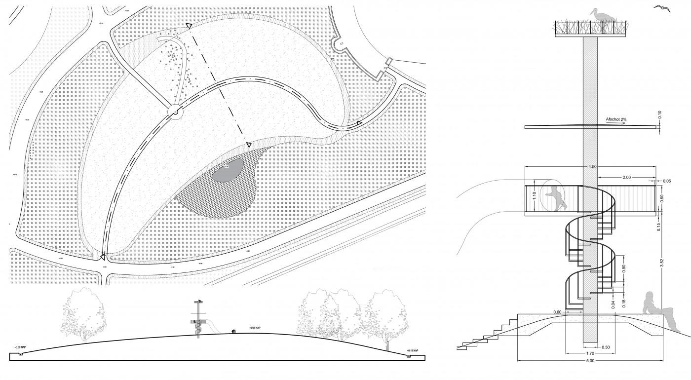 buro-sant-en-co-landschapsarchitectuur-schoterbos-haarlem-stadspark-ecologie-ooievaarspaal-detail