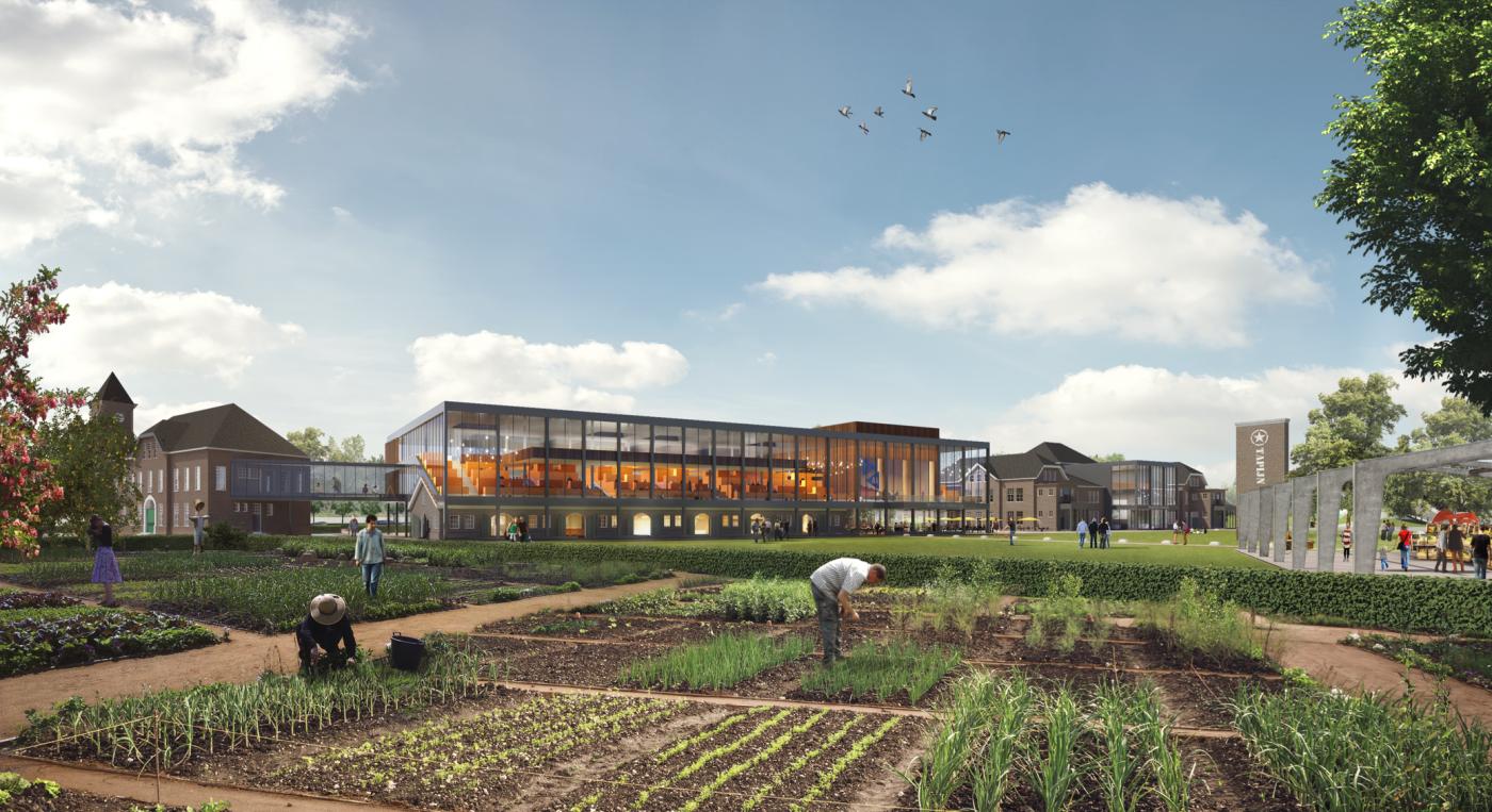 buro-sant-en-co-landschapsarchitectuur-tapijnkazerne-maastricht-transformatie-herbestemming-campus-universiteit-maastricht-stadslandbouw-permacultuur-urban farming