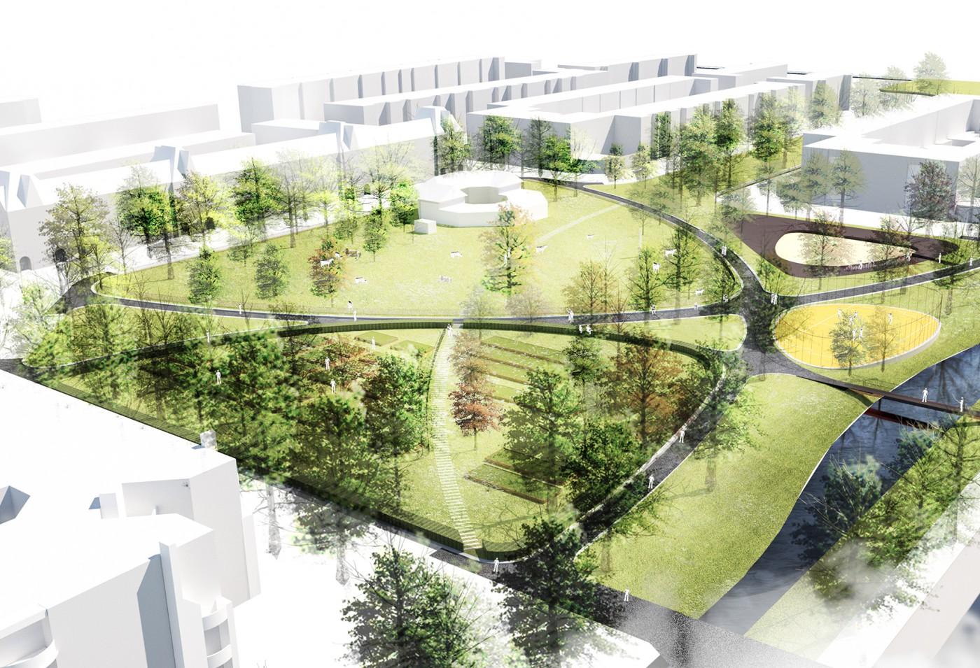 buro-sant-en-co-landschapsarchitectuur-cromvliet-den-haag-voorlopig-ontwerp-bird-eye-view