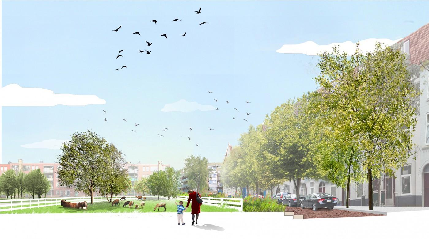 buro-sant-en-co-landschapsarchitectuur-cromvlietpark-den-haag-schetsontwerp-profiel-impressie