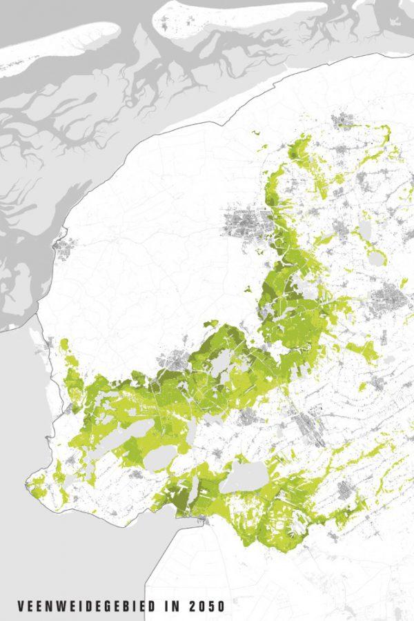 buro-sant-en-co-landschapsarchitectuur-atelier-Friese-veenweide- Verdwijning veen 2050-1