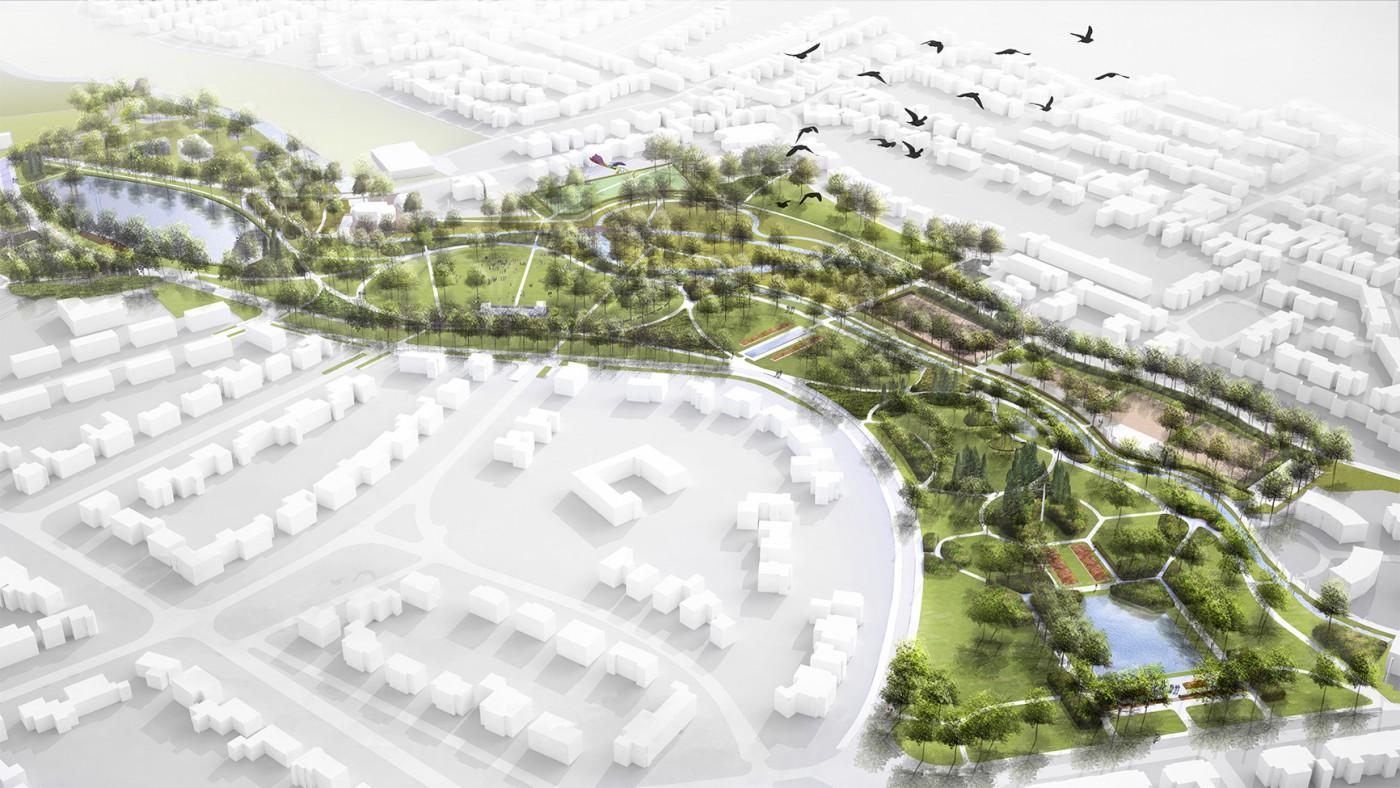 buro-sant-en-co-landschapsarchitectuur-stadspark-sittard-bird-eye-perspective-1