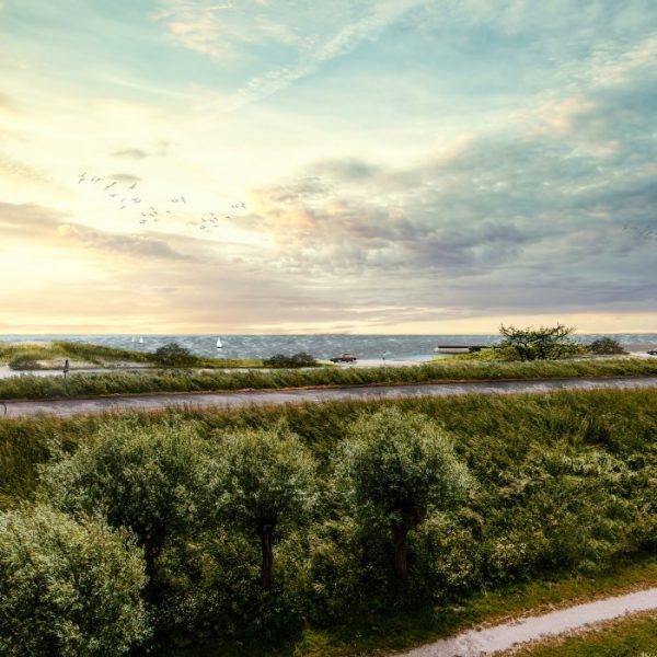 buro-sant-en-co-landschapsarchitectuur-dijkversterking-markermeerdijken-alliantie-stadsstrand-hoorn-strand-westfriese-omringdijk-galgenbocht-impressie