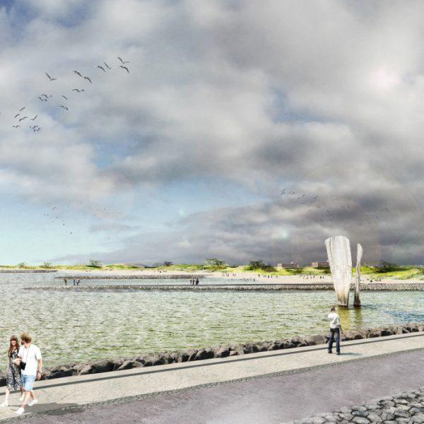 buro-sant-en-co-landschapsarchitectuur-dijkversterking-markermeerdijken-alliantie-stadsstrand-hoorn-strand-westfriese-omringdijk-schouwburg-impressie