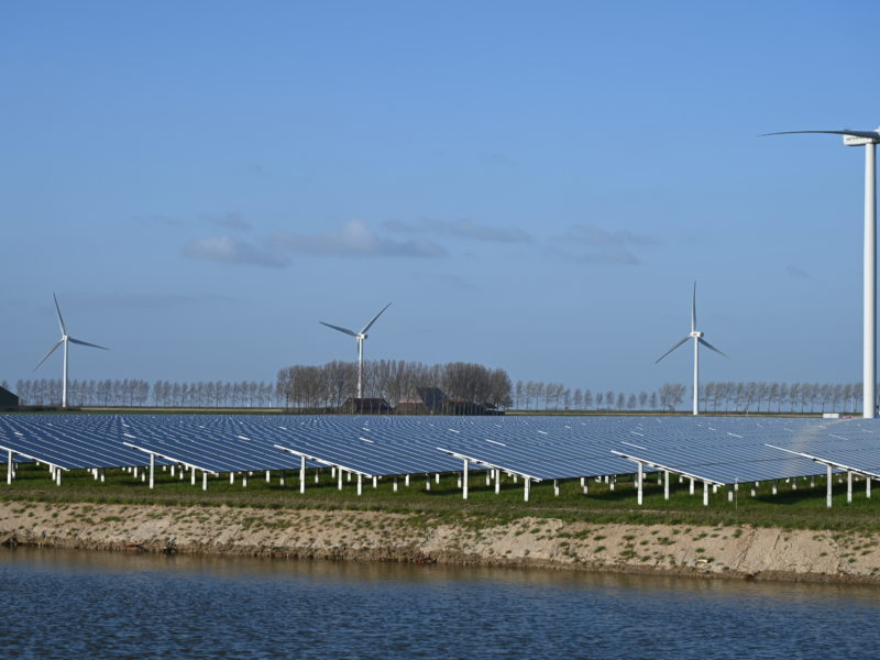 Buro Sant en Co landschapsarchitectuur windmolens zonneparken studie visuele impact